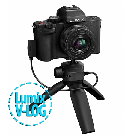 Panasonic G100 + 12-32mm + hand grip DMW-SHGR1